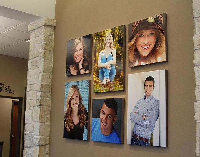 Orthodontist Longview Texas Smile Wall
