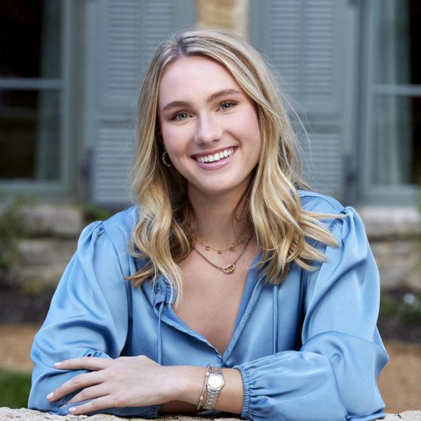 Girl in Blue Blouse Smiling - Longview Texas