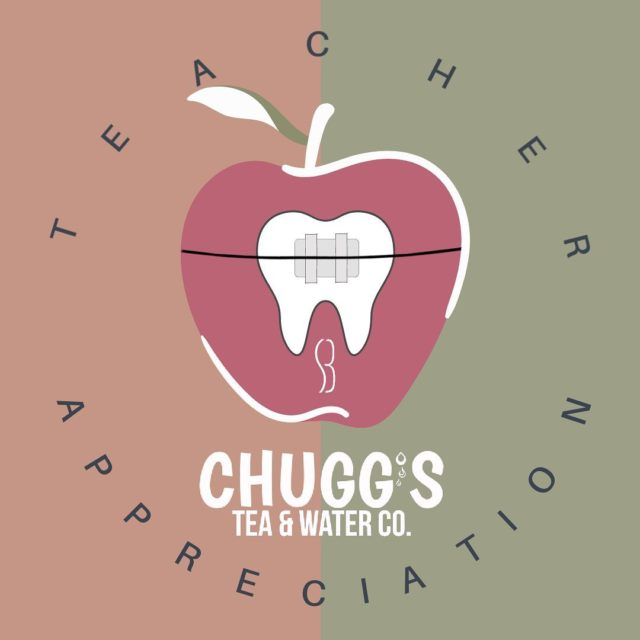 TEACHERS | ADMINISTRATORS We have a TREAT for you this week!🥤 • Show your Teacher's badge and get a @chuggsteaandwater on us👏🏼 -Teacher Appreciation Week-