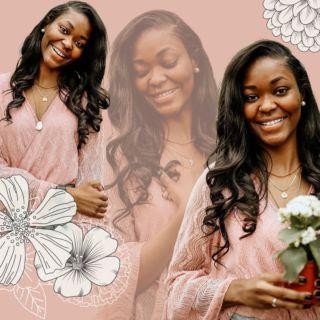 bloomin' w/ @bracesbysb  A vibe you won't find anyone else🌻  •SHE CHOSE CERAMIC•  @mik.dental ✨
