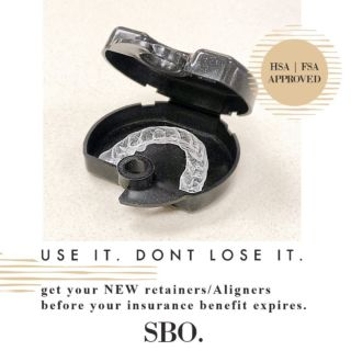 Did you know that you are able to use your HSA/FSA funds to purchase our in house Aligner system and retainers? • Call us today to schedule your 3D scan!  **Any questions related to insurance my new answered by our Insurance Coordinator, Mrs. Diana!