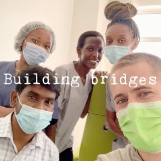 📳UPDATE Worked in a clinic in Kigali yesterday. Saw some really difficult cases, got to pray with patients and build some bridges that will allow us to go back and educate the dentists. **There are 48 dentist for 12 million people! -Dr.B